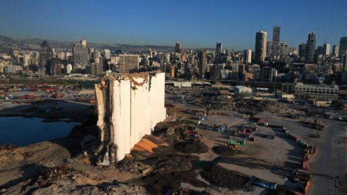 Beirut dan pelabuhannya, 27 Mei 2021, masih menanggung bekas ledakan Agustus 2020 (AFP)