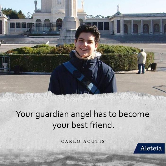Malaikat pelindungmu telah menjadi sahabat terbaikmu (Carlo Acutis)
