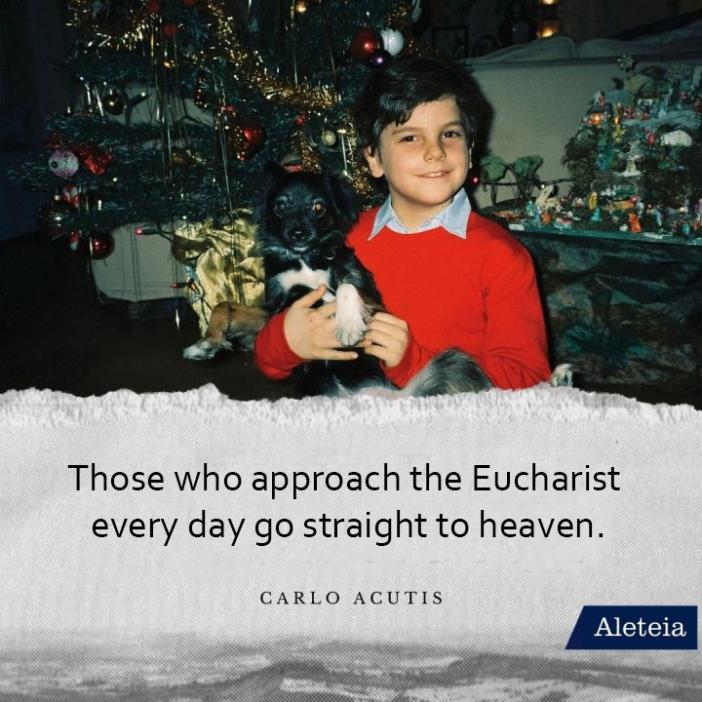 Orang yang menedekati Ekaristi setiap hari langsung masuk surga (Carlo Acutis)