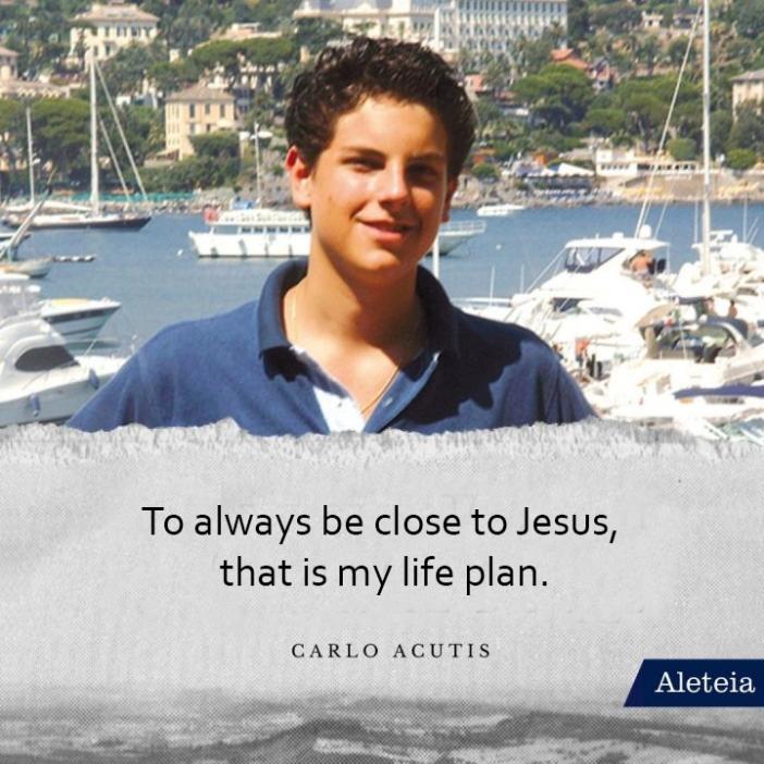 Selalu dekat dengan Yesus itulah rencana hidupku (Carlo Acutis)