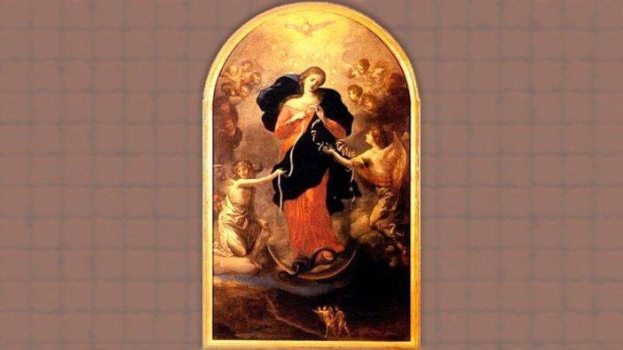 Dari Augsburg ke Roma, Gambar Maria Pengurai Simpul Masalah yang kini berada di Gereja Santo Petrus Perlack, Jerman, akan menyertai akhir doa Rosario sedunia.