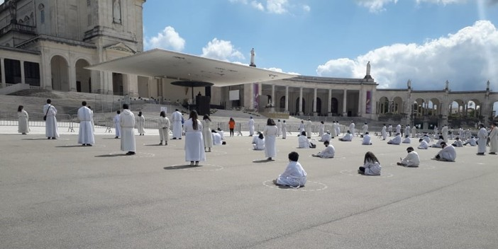 Ziarah Nasional Putra-Putri Altar Portugal 2021 di Fatima